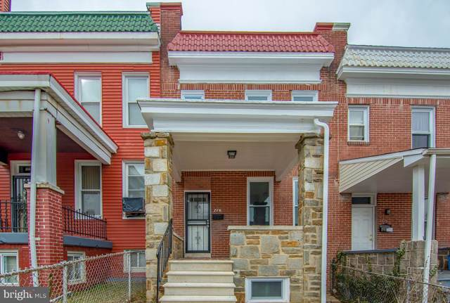 776 Linnard Street, BALTIMORE, MD 21229 (#MDBA484480) :: The Miller Team
