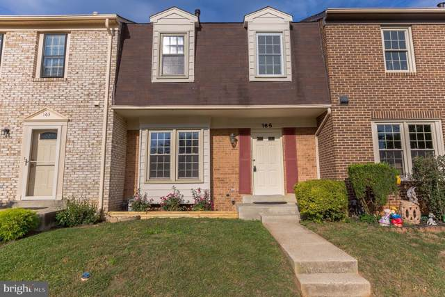 165 Bralan Lane, GAITHERSBURG, MD 20877 (#MDMC679560) :: RE/MAX Plus