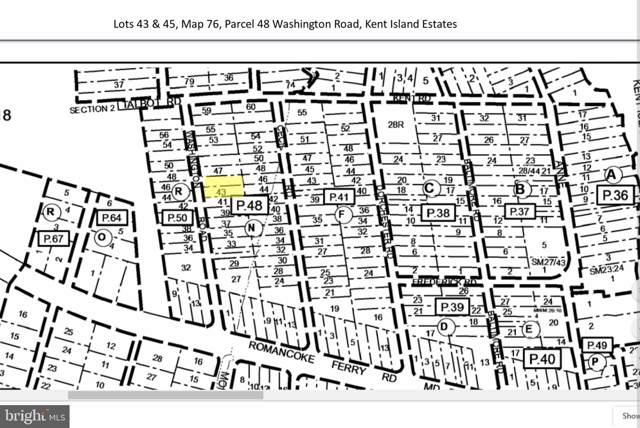 Lot 43 & 45 Washington Road, STEVENSVILLE, MD 21666 (#MDQA141546) :: RE/MAX Plus