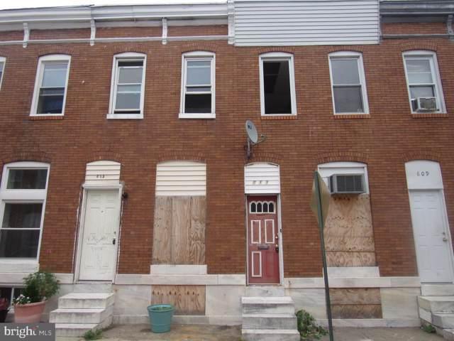 811 N Belnord Avenue, BALTIMORE, MD 21205 (#MDBA484986) :: Keller Williams Pat Hiban Real Estate Group