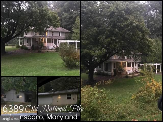 6389 Old National Pike, BOONSBORO, MD 21713 (#MDWA168066) :: Keller Williams Pat Hiban Real Estate Group