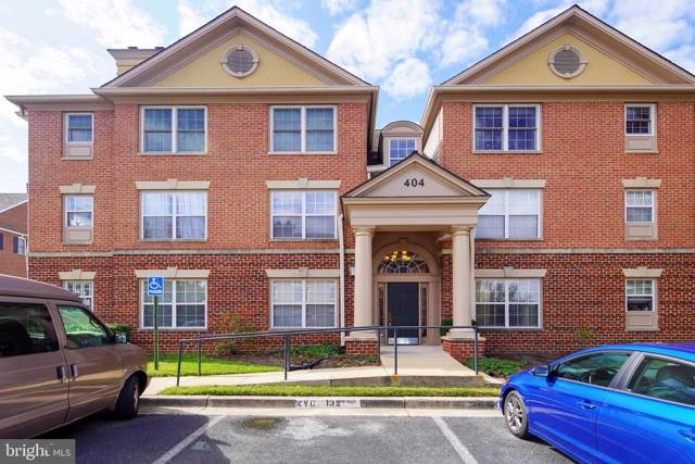 404 Ridgepoint Place #14, GAITHERSBURG, MD 20878 (#MDMC681740) :: Dart Homes
