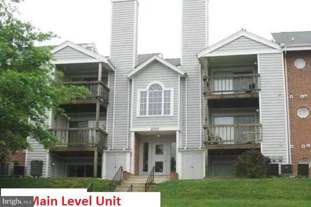 200 Spring Maiden Court #104, GLEN BURNIE, MD 21060 (#MDAA415176) :: Keller Williams Pat Hiban Real Estate Group