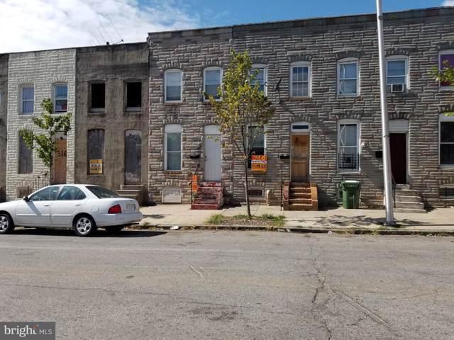 312 S Payson Street, BALTIMORE, MD 21223 (#MDBA486934) :: Keller Williams Pat Hiban Real Estate Group