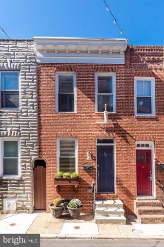 12 S Castle Street, BALTIMORE, MD 21231 (#MDBA487084) :: Revol Real Estate