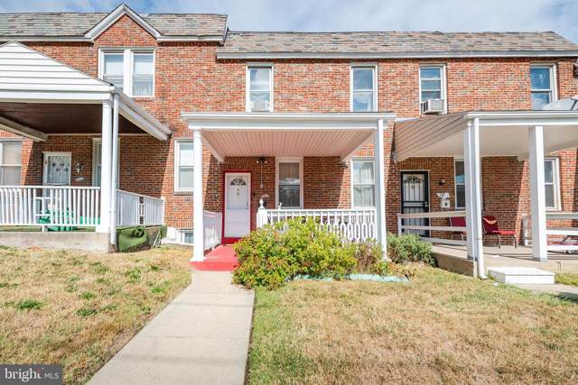 2510 W Cold Spring Lane, BALTIMORE, MD 21215 (#MDBA487126) :: The Speicher Group of Long & Foster Real Estate
