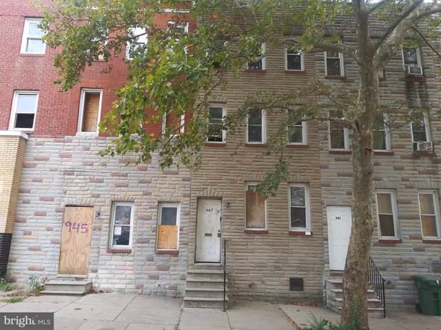 943 N Mount Street, BALTIMORE, MD 21217 (#MDBA487246) :: Dart Homes