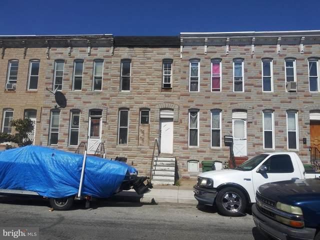 2118 Ashton Street, BALTIMORE, MD 21223 (#MDBA487252) :: Keller Williams Pat Hiban Real Estate Group