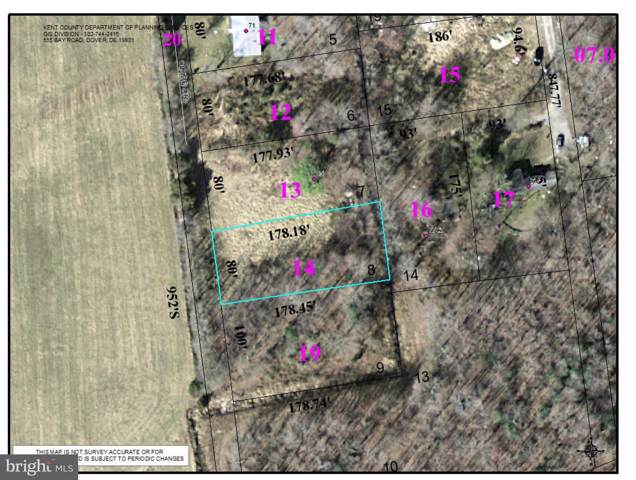 Lot 1400 Clyde Drive, CAMDEN WYOMING, DE 19934 (#DEKT233092) :: The Allison Stine Team