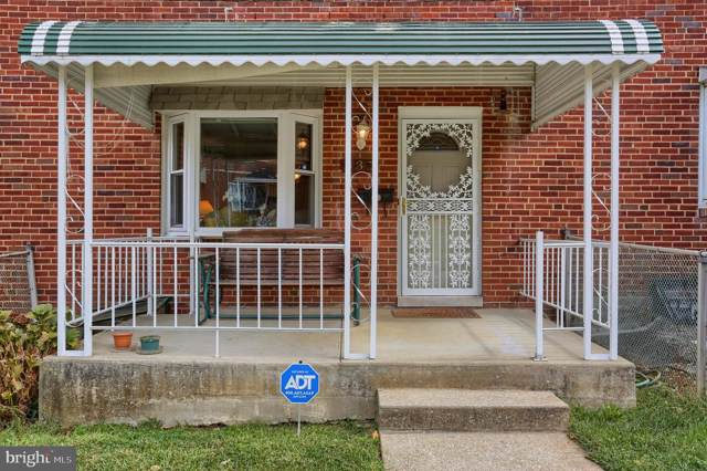 837 N Augusta Avenue, BALTIMORE, MD 21229 (#MDBA487576) :: The Miller Team