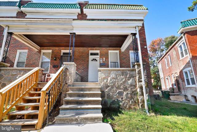 416 Gwynn Avenue, BALTIMORE, MD 21229 (#MDBA488118) :: AJ Team Realty
