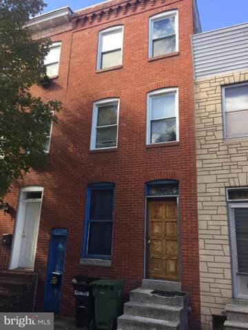 410 S Collington Avenue, BALTIMORE, MD 21231 (#MDBA488596) :: The Vashist Group