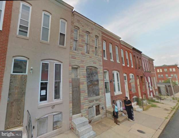 1826 W Fairmount Avenue, BALTIMORE, MD 21223 (#MDBA488632) :: The Daniel Register Group