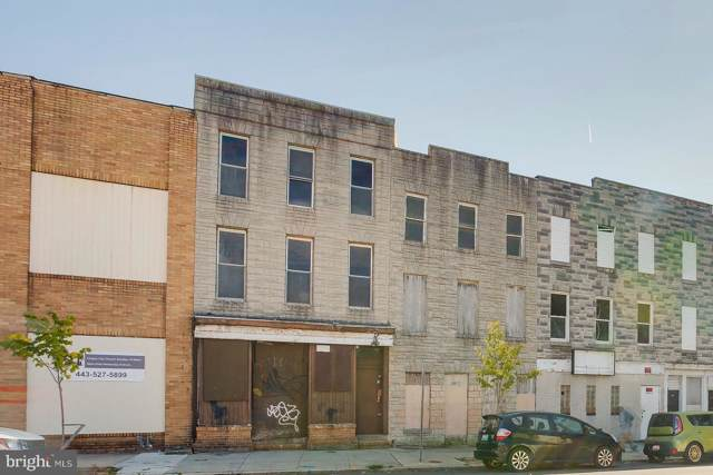 2005 Frederick Avenue, BALTIMORE, MD 21223 (#MDBA488686) :: Arlington Realty, Inc.