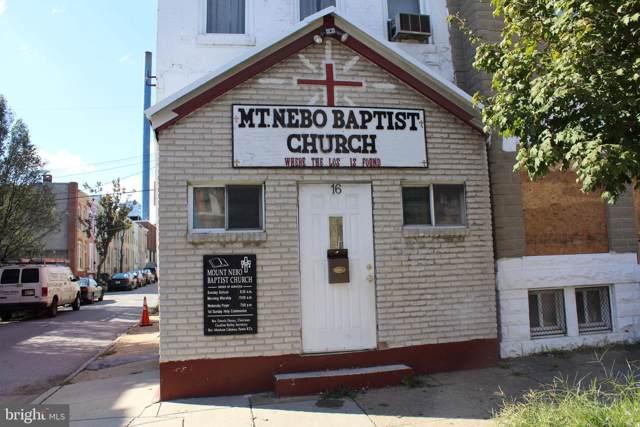 16 N Monroe Street, BALTIMORE, MD 21223 (#MDBA488846) :: Bob Lucido Team of Keller Williams Integrity