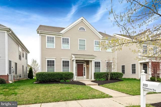 223 Recklesstown Way, CROSSWICKS, NJ 08515 (#NJBL360026) :: Jim Bass Group of Real Estate Teams, LLC