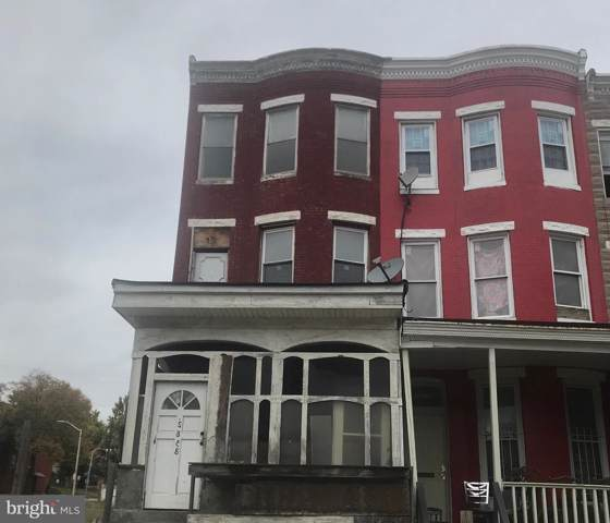 2858 W North Avenue, BALTIMORE, MD 21216 (#MDBA489166) :: ExecuHome Realty