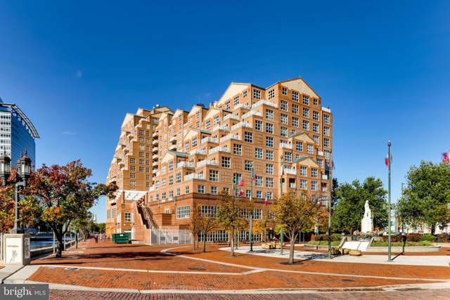 250 President Street #208, BALTIMORE, MD 21202 (#MDBA489222) :: SURE Sales Group