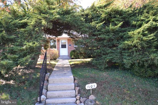 7103 Hickory Hill Road, FALLS CHURCH, VA 22042 (#VAFX1096688) :: The Licata Group/Keller Williams Realty
