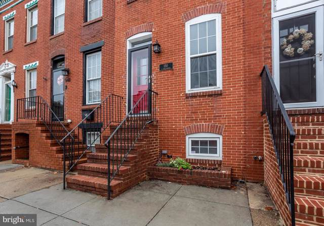 550 E Fort Avenue, BALTIMORE, MD 21230 (#MDBA489918) :: Radiant Home Group