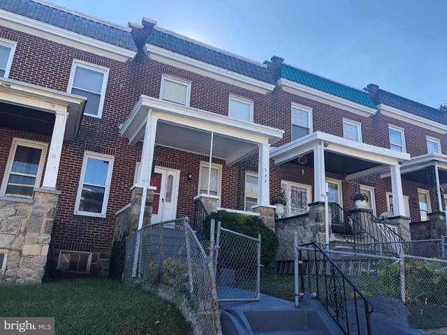 523 Chateau Avenue, BALTIMORE, MD 21212 (#MDBA489974) :: Remax Preferred | Scott Kompa Group