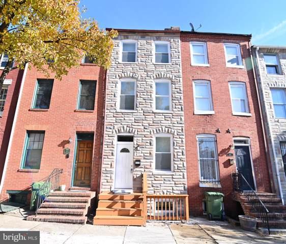 115 S Poppleton Street, BALTIMORE, MD 21201 (#MDBA490286) :: Dart Homes