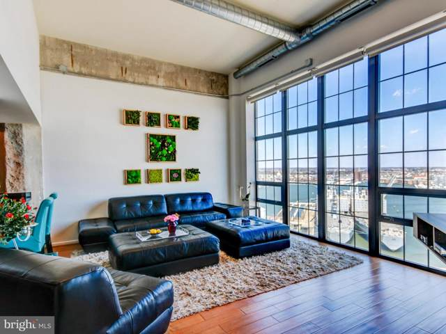 1200 Steuart Street #1713, BALTIMORE, MD 21230 (#MDBA490558) :: Blue Key Real Estate Sales Team