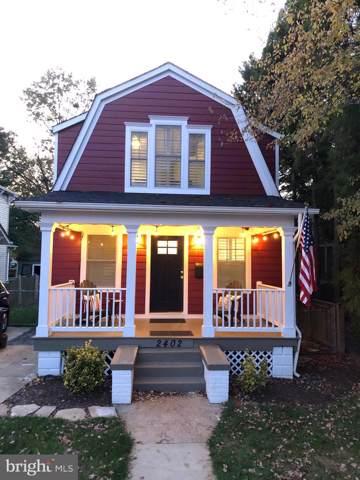 2402 Terrett Avenue, ALEXANDRIA, VA 22301 (#VAAX241250) :: The Speicher Group of Long & Foster Real Estate