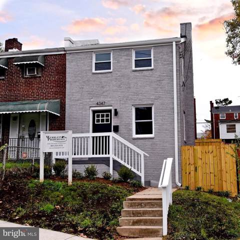 4347 F Street SE, WASHINGTON, DC 20019 (#DCDC449146) :: RE/MAX Plus