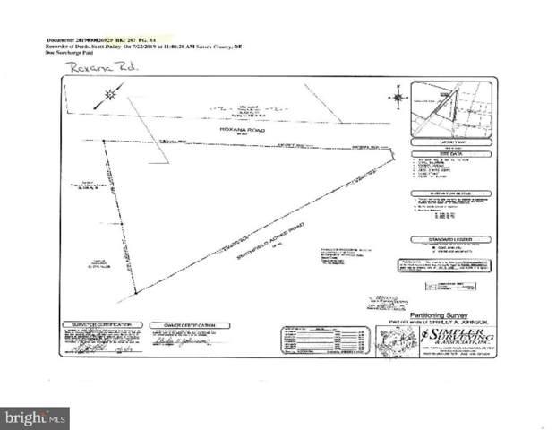 Roxana Rd, SELBYVILLE, DE 19975 (#DESU151164) :: RE/MAX Coast and Country
