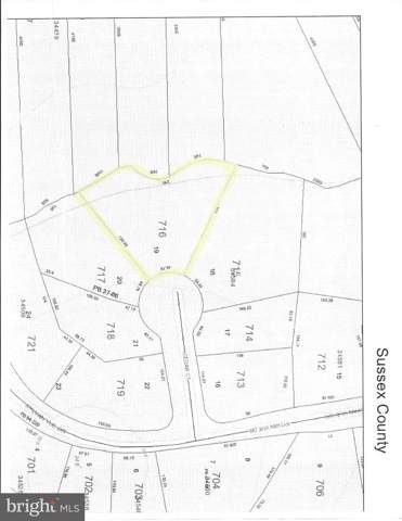 Lot 19 Cedar Ct., DAGSBORO, DE 19939 (#DESU151246) :: Atlantic Shores Sotheby's International Realty