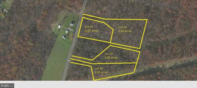 646-LOT 19 Nestle Quarry Road, FALLING WATERS, WV 25419 (#WVBE172766) :: The Sky Group
