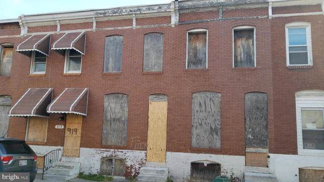 917 N Rose Street, BALTIMORE, MD 21205 (#MDBA491344) :: Great Falls Great Homes