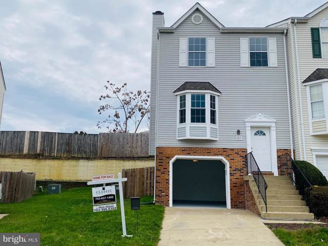 201 Wimbeldon Court, STAFFORD, VA 22556 (#VAST216574) :: The Kenita Tang Team