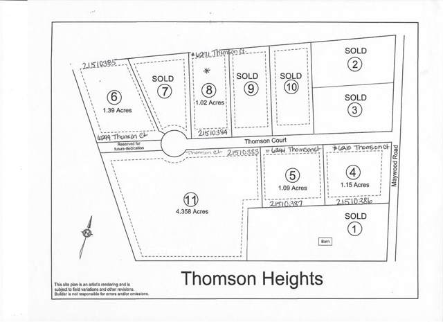 LOT 11 Thomson Court #11, THOMASVILLE, PA 17364 (#PAYK128592) :: Teampete Realty Services, Inc