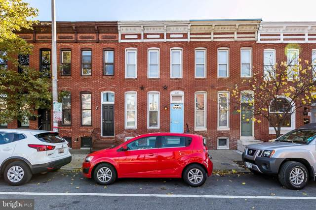 1023 S Hanover Street, BALTIMORE, MD 21230 (#MDBA491554) :: Homes to Heart Group