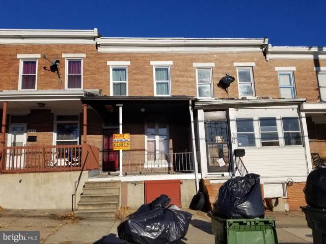 3142 Wilkens Avenue, BALTIMORE, MD 21223 (#MDBA491726) :: Radiant Home Group