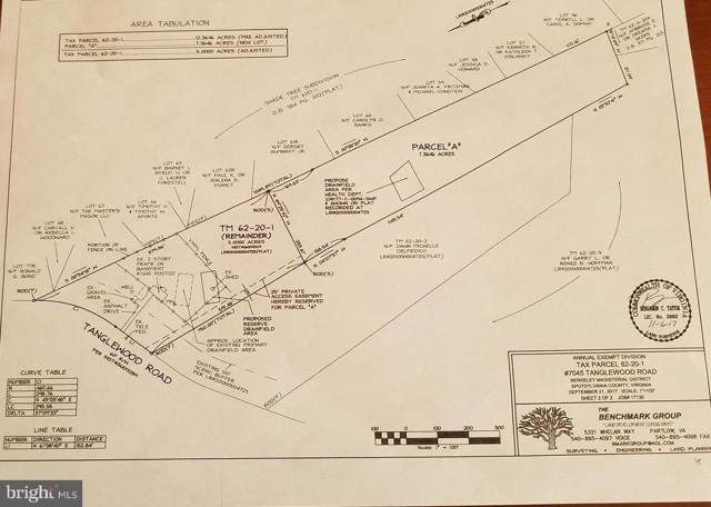 7045A Tanglewood Roa Tanglewood Road Parcel A, SPOTSYLVANIA, VA 22551 (#VASP217784) :: The Licata Group/Keller Williams Realty