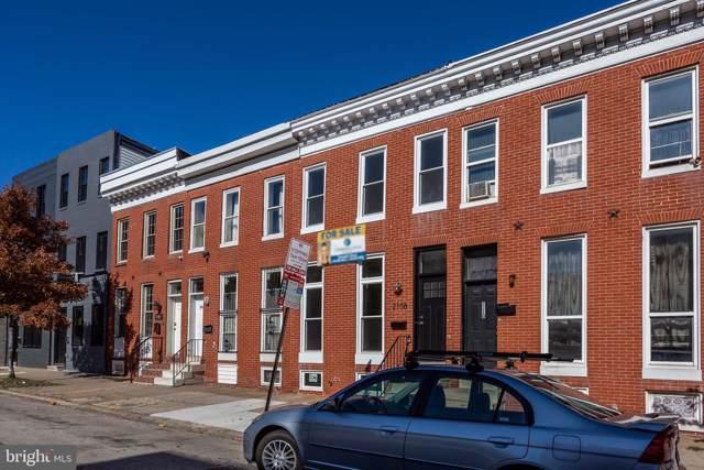 2112 E Fayette Street, BALTIMORE, MD 21231 (#MDBA492016) :: Revol Real Estate