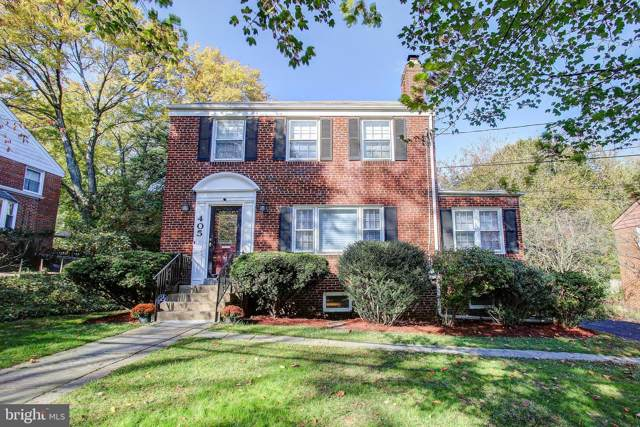405 Mansfield Road, SILVER SPRING, MD 20910 (#MDMC687634) :: Shamrock Realty Group, Inc