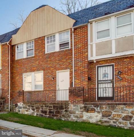 507 Wyanoke Avenue, BALTIMORE, MD 21218 (#MDBA492196) :: Viva the Life Properties