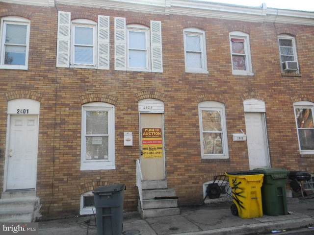 2403 Christian Street, BALTIMORE, MD 21223 (#MDBA492264) :: The Dailey Group