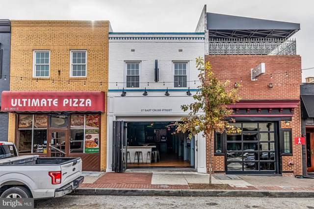 27 Cross Street E, BALTIMORE, MD 21230 (#MDBA492358) :: Bob Lucido Team of Keller Williams Integrity