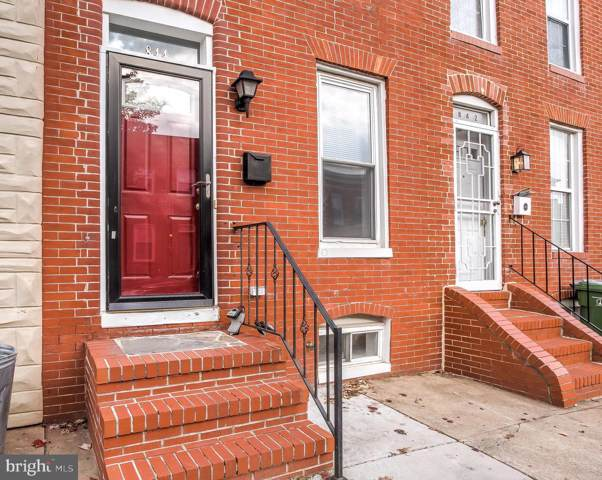 844 Woodward Street, BALTIMORE, MD 21230 (#MDBA492582) :: The Maryland Group of Long & Foster