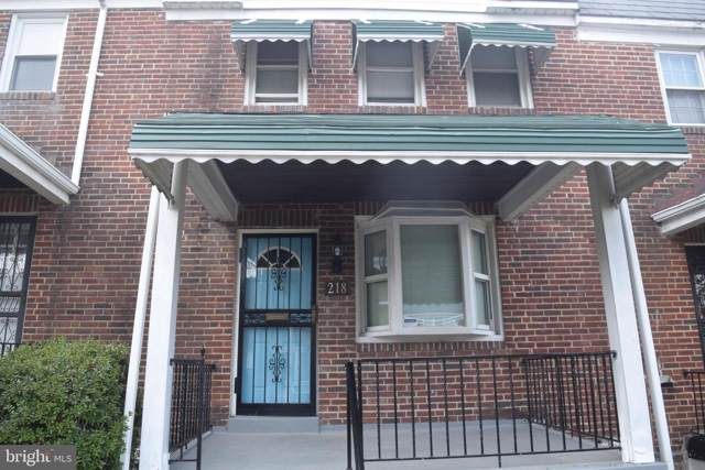 218 Mount Holly Street, BALTIMORE, MD 21229 (#MDBA492698) :: Advon Group