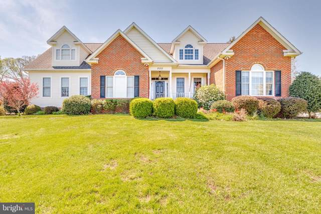 222 Beautiful Court, MARTINSBURG, WV 25404 (#WVBE173118) :: Pearson Smith Realty