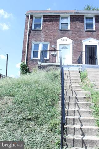 900 Ashburton Street, BALTIMORE, MD 21216 (#MDBA492972) :: Bic DeCaro & Associates