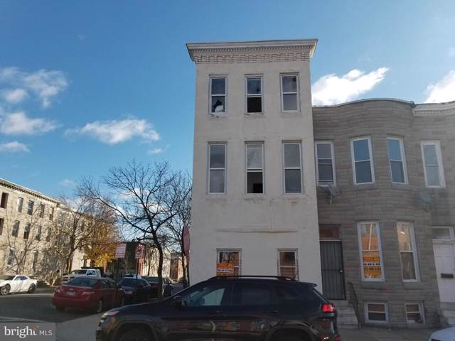 301 S Mount Street, BALTIMORE, MD 21223 (#MDBA492974) :: Radiant Home Group