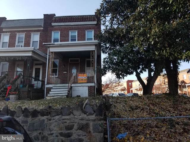 500 Hurley Avenue, BALTIMORE, MD 21223 (#MDBA493018) :: Radiant Home Group