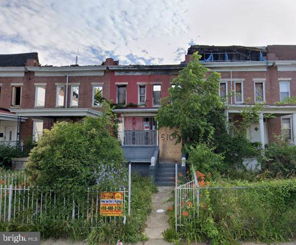 5105 Cordelia Avenue, BALTIMORE, MD 21215 (#MDBA493028) :: Dart Homes
